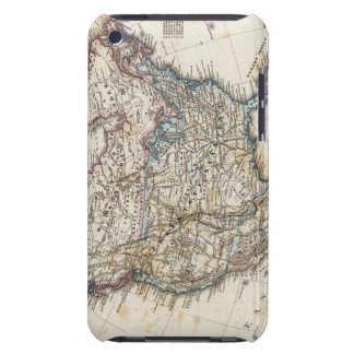 North America Map by Stieler iPod Touch Cases