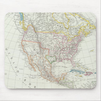 North America Map Mouse Mat