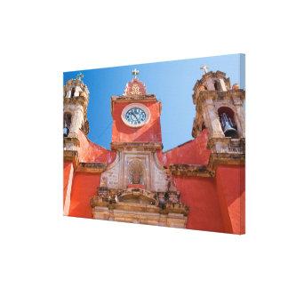 North America, Mexico, Guanajuato. Shrine of Canvas Print