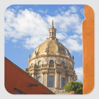 North America, Mexico, Guanajuato state, San 2 Square Sticker