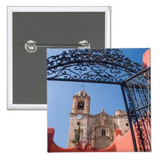 North America, Mexico, Guanajuato State. The 15 Cm Square Badge