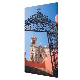 North America, Mexico, Guanajuato State. The Gallery Wrap Canvas
