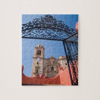 North America, Mexico, Guanajuato State. The Jigsaw Puzzle