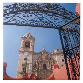 North America, Mexico, Guanajuato State. The Large Square Tile