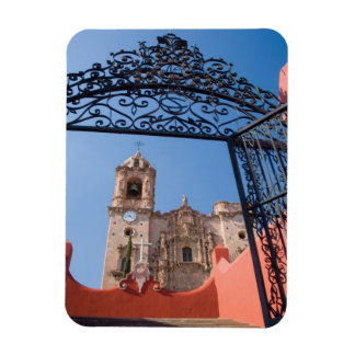 North America, Mexico, Guanajuato State. The Rectangular Photo Magnet