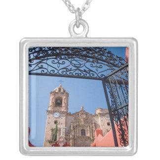 North America, Mexico, Guanajuato State. The Silver Plated Necklace