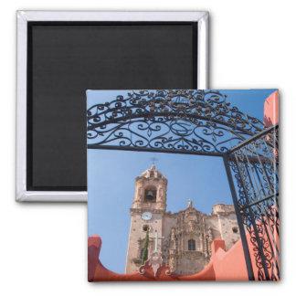 North America, Mexico, Guanajuato State. The Square Magnet