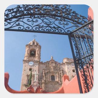 North America, Mexico, Guanajuato State. The Square Sticker