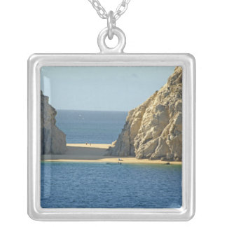 North America, Mexico, State of Baja California Silver Plated Necklace