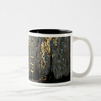 North America, Mexico, State of Baja Two-Tone Coffee Mug