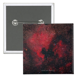 North America Nebula and Pelican Nebula 2 15 Cm Square Badge