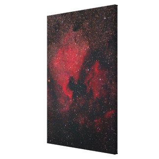 North America Nebula and Pelican Nebula 2 Stretched Canvas Print