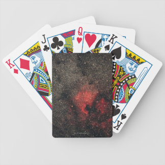 North America Nebula and Pelican Nebula Bicycle Playing Cards