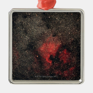 North America Nebula and Pelican Nebula Christmas Ornament