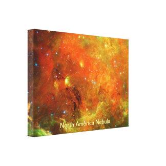 North America Nebula Stretched Canvas Print