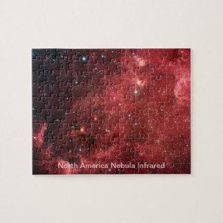 North America Nebula Infrared Jigsaw Puzzle