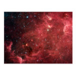 North America Nebula Infrared Post Card