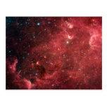 North America Nebula Infrared Postcard