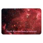 North America Nebula Infrared Rectangular Magnets