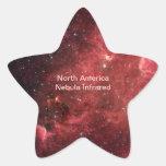 North America Nebula Infrared Sticker