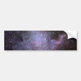 North America Nebula. The Milky way. Bumper Sticker