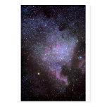 North America Nebula. The Milky way. Tarjetas Postales
