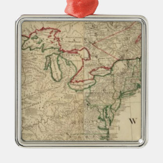North America north Christmas Ornament