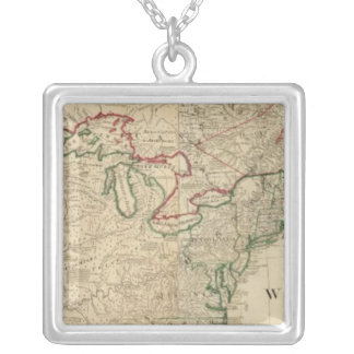North America north Silver Plated Necklace