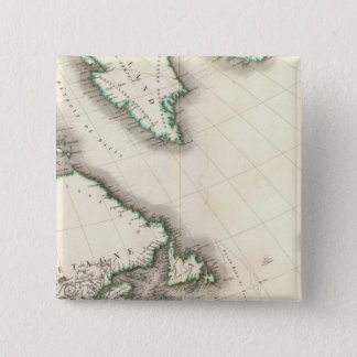 North America Northeast 15 Cm Square Badge