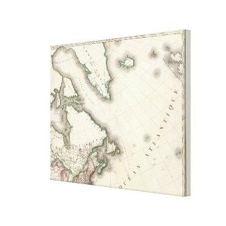 North America Northeast Canvas Print