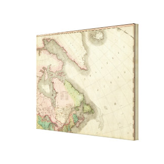 North America Northeast Stretched Canvas Print