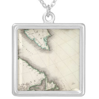 North America Northeast Silver Plated Necklace