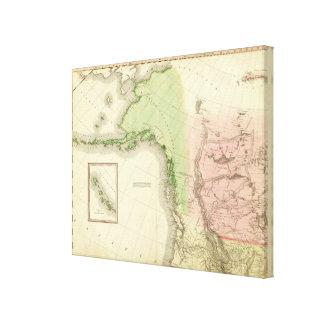 North America Northwest Canvas Print