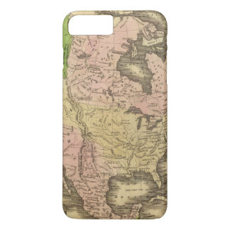 North America Olney Map iPhone 8 Plus/7 Plus Case