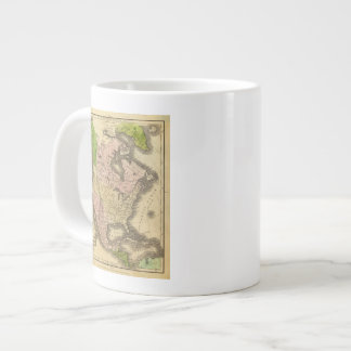 North America Olney Map Large Coffee Mug