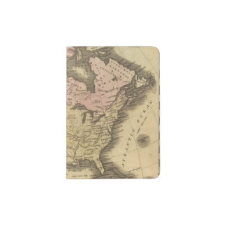 North America Olney Map Passport Holder