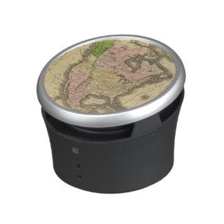 North America Olney Map Speaker
