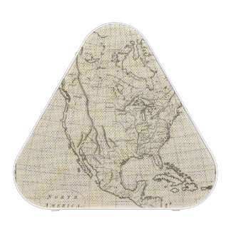 North America outline map