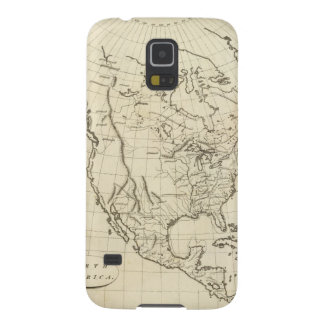 North America outline map Galaxy S5 Cover