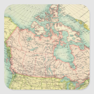North America political Square Sticker