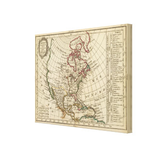 North America School Canvas Print