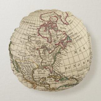 North America School Round Cushion