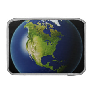 North America Seen from Space 2 MacBook Sleeve