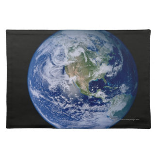 North America Seen from Space Placemat