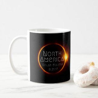 North America Solar Eclipse Mug
