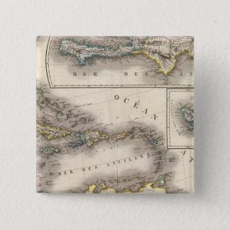 North America Southeast 15 Cm Square Badge