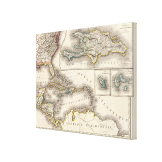North America Southeast Canvas Print