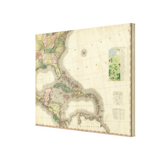 North America Southeast Canvas Print