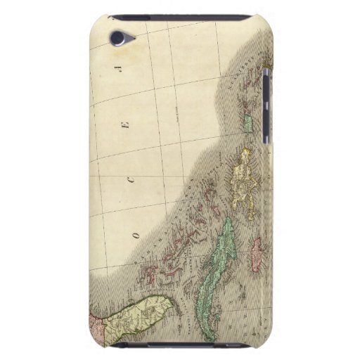 North America Southeast iPod Touch Case-Mate Case