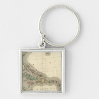 North America Southeast Key Ring